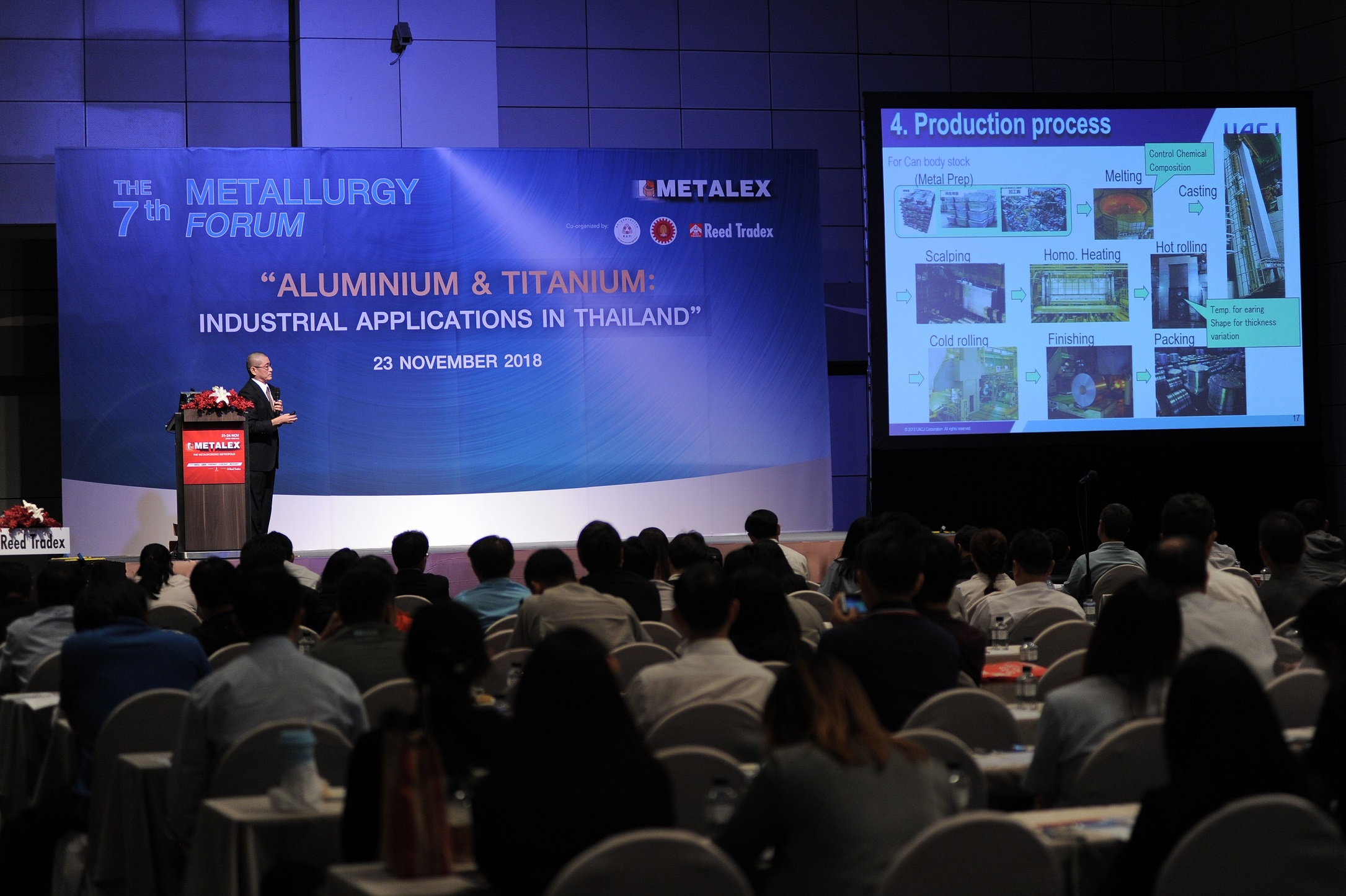METALEXで金属工学に関するセミナー開催