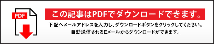 この記事はPDFでダウンロードできます
