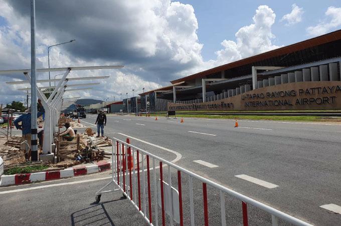 ドンムアン、スワンナプームに次ぐ拠点として整備される計画のウタパオ国際空港