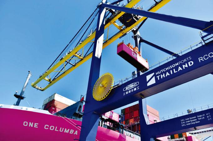 レムチャバン港も第3期拡張工事を計画。画像は香港系ハチソンが運営するターミナルD