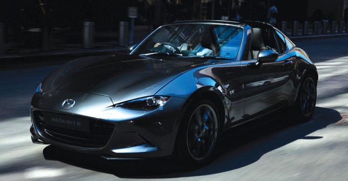 マツダがスポーツカーMX-5の新モデル発表