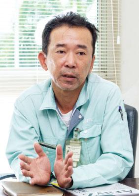 タイ赴任10年になる西野雄二工場長