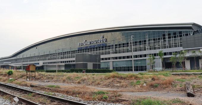 完成間近のバンスー中央駅 出所:ArayZ