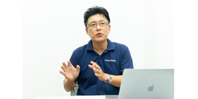 包装管理士の資格も持つ小坂隼人氏